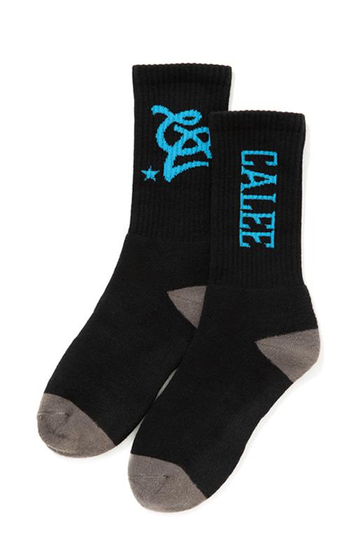 calee-multi-logo-socks