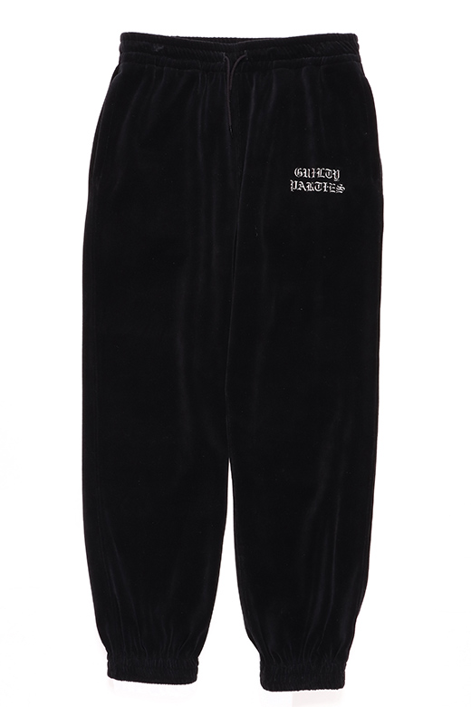 VELOUR HOODED PANTS