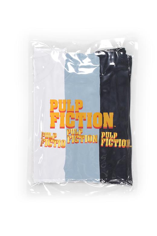 PULP FICTION / 3 PACK CREW NECK COLOR T-SHIRT ( TYPE-1 )