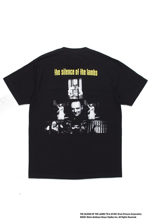 THE SILENCE OF THE LAMBS / CREW NECK T-SHIRT ( TYPE-1 )