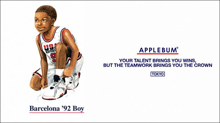 "APPLEBUM /""Barcelona '92"" 2021/07/22(SAT) NEW ARRIVAL"