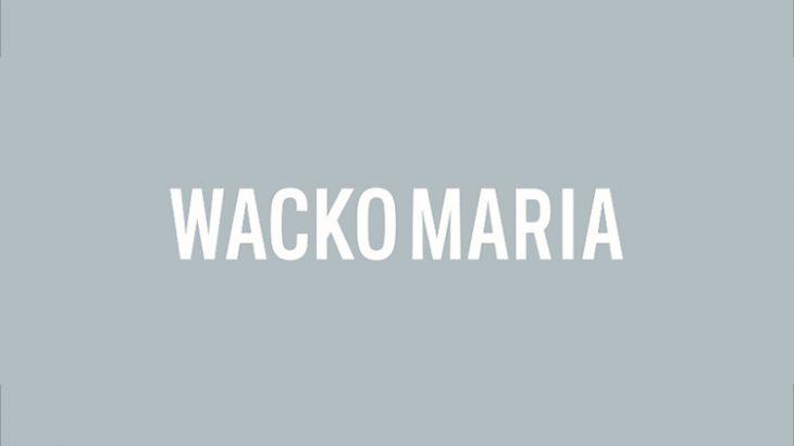 WACKO MARIA 2021/9/25(SAT)AM12:00より新作アイテムが15型発売いたします。