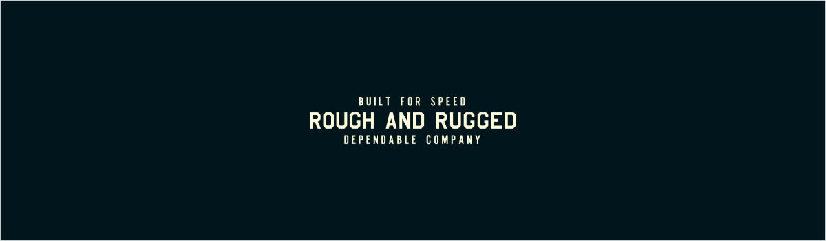 ROUGH&RUGGED 2020A/W